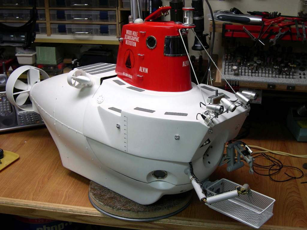 The Alvin Deepsea Submersible