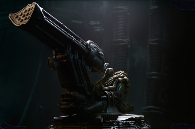 The Space Jockey Statue